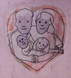 illustratie gezin