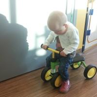 fietsen in ziekenhuis tijdens onderzoek