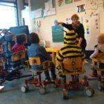 Vera in haar klas in Rotterdam